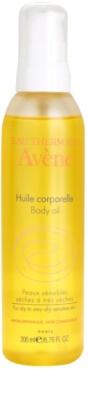 Avene Body Care test olaj száraz és  nagyon száraz érzékeny bőrre