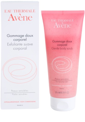 Avene Body Care exfoliante limpiador para pieles sensibles 1