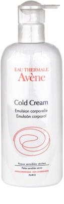 Avene Cold Cream test emulzió a nagyon száraz bőrre