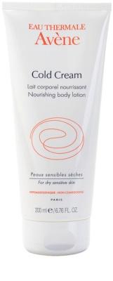 Avene Cold Cream leche corporal nutritiva para pieles secas y muy secas