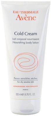 Avene Cold Cream подхранващ лосион за тяло за суха или много суха кожа