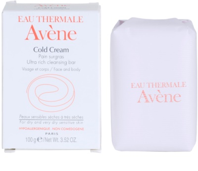 Avene Cold Cream мило для сухої та дуже сухої шкіри