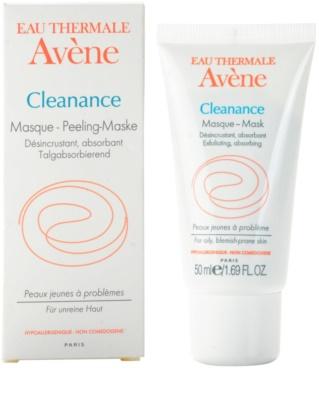 Avene Cleanance hámlasztó maszk problémás és pattanásos bőrre 1