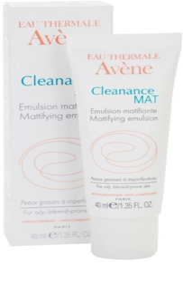 Avene Cleanance Mat emulsão matificante para regulação do sebo cutâneo 1