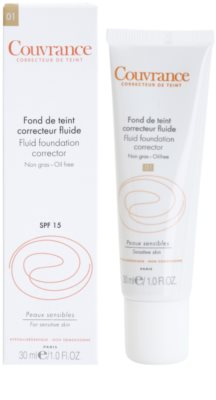 Avene Couvrance tekutý krycí make-up SPF 15 1