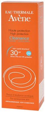 Avene Cleanance Solaire слънцезащита за кожа, склонна към акне SPF 30 2