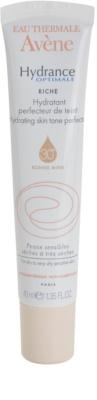 Avene Hydrance подхранващ хидратиращ уеднаквяващ крем за суха към много суха чувствителна кожа