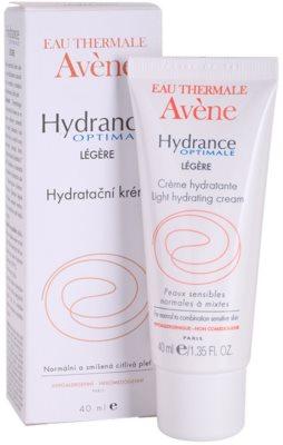 Avene Hydrance creme hidratante para pele normal a mista 1