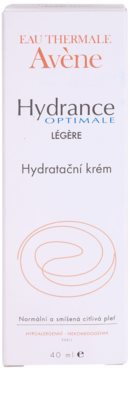Avene Hydrance creme hidratante para pele normal a mista 3