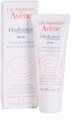 Avene Hydrance creme hidratante para pele seca a muito seca 1