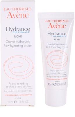 Avene Hydrance creme hidratante para pele seca a muito seca 2