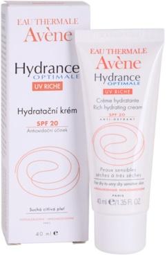 Avene Hydrance vlažilna krema za suho kožo SPF 20 1