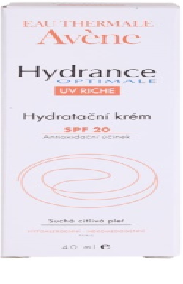 Avene Hydrance vlažilna krema za suho kožo SPF 20 3