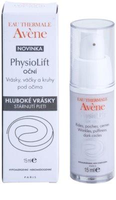 Avene PhysioLift szemkrém a ráncok, duzzanatok és sötét karikák ellen 2