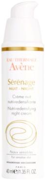 Avene Sérénage creme de noite antirrugas para pele madura 1