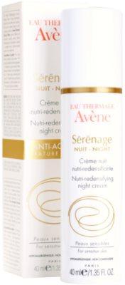 Avene Sérénage creme de noite antirrugas para pele madura 2