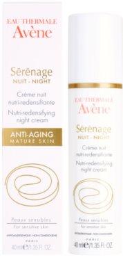 Avene Sérénage нічний крем проти зморшок для зрілої шкіри 3