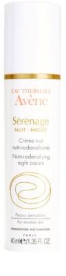 Avene Sérénage crema de noche antiarrugas  para pieles maduras