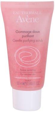 Avene Skin Care почистващ пилинг за чувствителна кожа на лицето