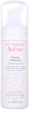 Avene Skin Care mousse de limpeza para pele normal a mista