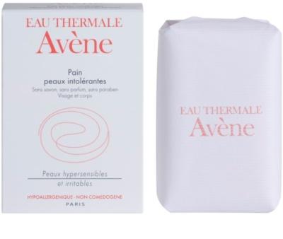Avene Skin Care jabón sólido para rostro y cuerpo