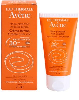 Avene Sun Sensitive ochranný tónovací krém na obličej SPF 30 2