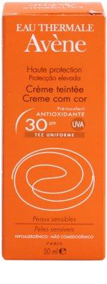 Avene Sun Sensitive ochranný tónovací krém na obličej SPF 30 3