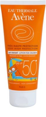 Avene Sun Kids lapte protector pentru copii SPF 50+