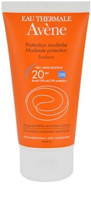 Avene Sun Sensitive napozó emulzió SPF 20