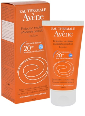 Avene Sun Sensitive emulsja do opalania SPF 20 2