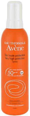 Avene Sun Sensitive spray do opalania SPF 50+