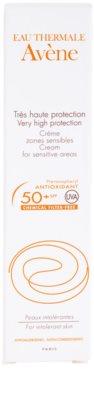 Avene Sun Mineral crema protectora solar para zonas sensibles sin filtros químicos y sin perfume SPF 50+ 3