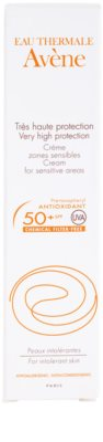 Avene Sun Mineral creme protetor sem quimicos e perfume para as áreas sensíveis SPF 50+ 3