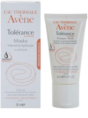 Avene Tolérance Extreme интензивна хидратираща маска за успокояване на кожата 1