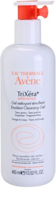 Avene TriXéra gel de limpeza para pele sensível e atópica
