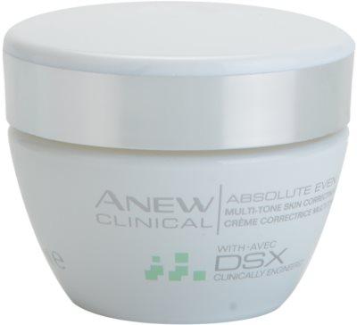 Avon Anew Clinical krém  egységesíti a bőrszín tónusait