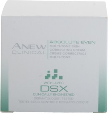 Avon Anew Clinical krém pro sjednocení barevného tónu pleti 3