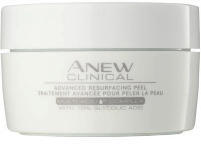 Avon Anew Clinical złuszczające chusteczki do twarzy