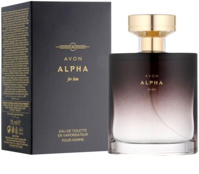 Avon Alpha For Him тоалетна вода за мъже 1