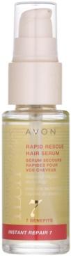 Avon Advance Techniques Instant Repair 7 odnawiające serum do włosów dający natychmiastowy efekt