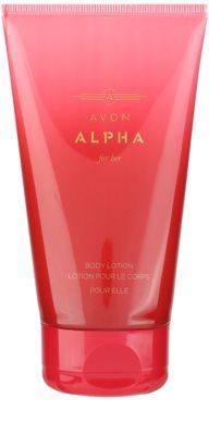 Avon Alpha For Her Lapte de corp pentru femei