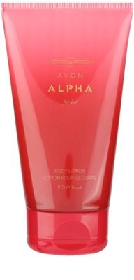 Avon Alpha For Her mleczko do ciała dla kobiet