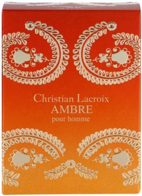 Avon Christian Lacroix Ambre Eau de Toilette para homens 4