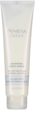 Avon Anew Clean пилинг крем за всички типове кожа на лицето