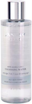 Avon Anew Clean reinigendes Gesichtswasser gegen Falten 3 in 1