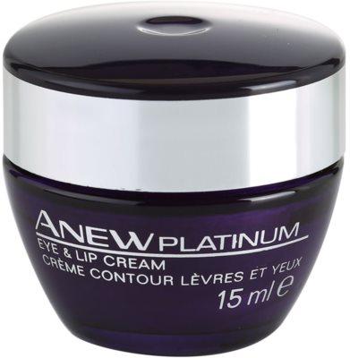 Avon Anew Platinum krema za okoli oči in ustnic