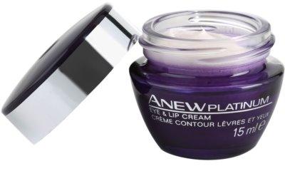 Avon Anew Platinum krém na oční okolí a rty 1