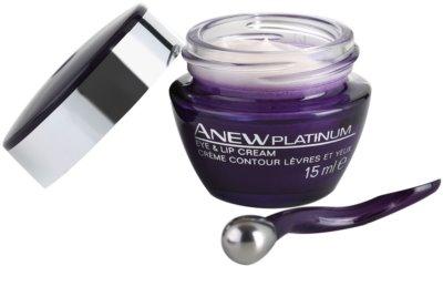 Avon Anew Platinum krém na oční okolí a rty 2