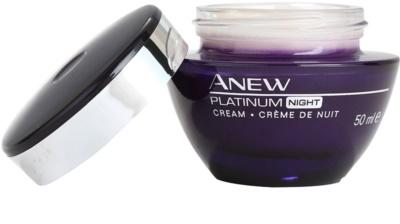 Avon Anew Platinum Nachtcreme gegen tiefe Falten 1