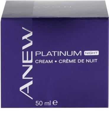 Avon Anew Platinum Nachtcreme gegen tiefe Falten 4